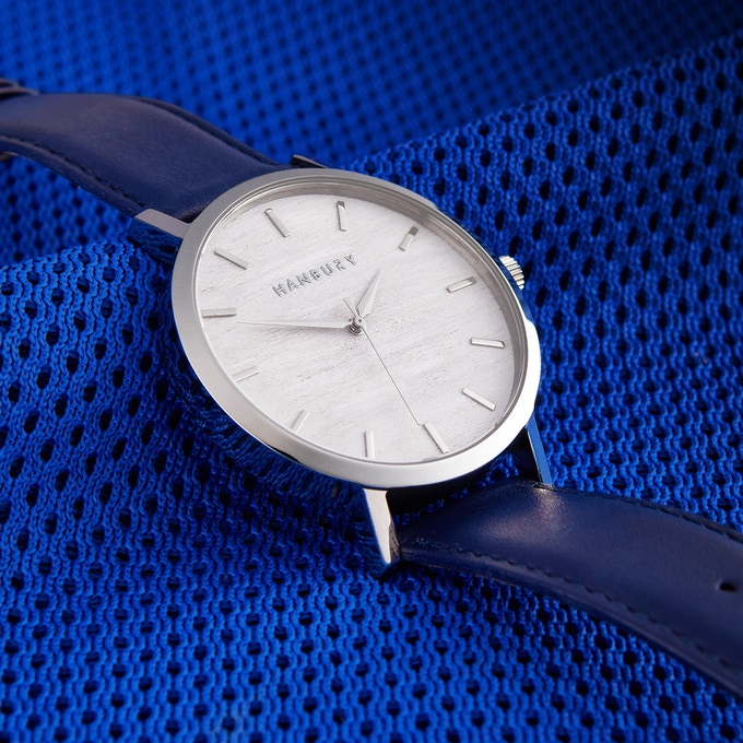 Hanbury Watch in Blue. New Labels Only