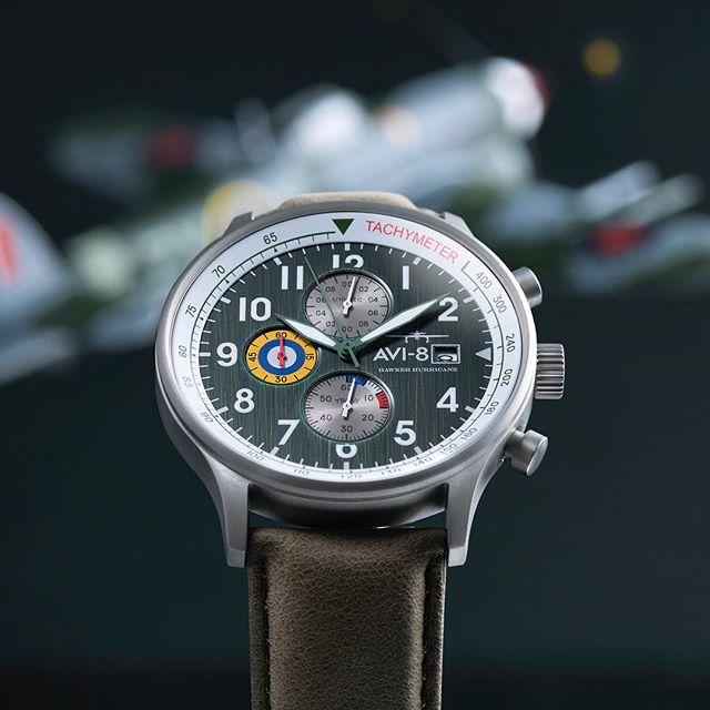 AVI 8 Hurricane Hawker. AV 4011 OG. New Labels Only. Watches.