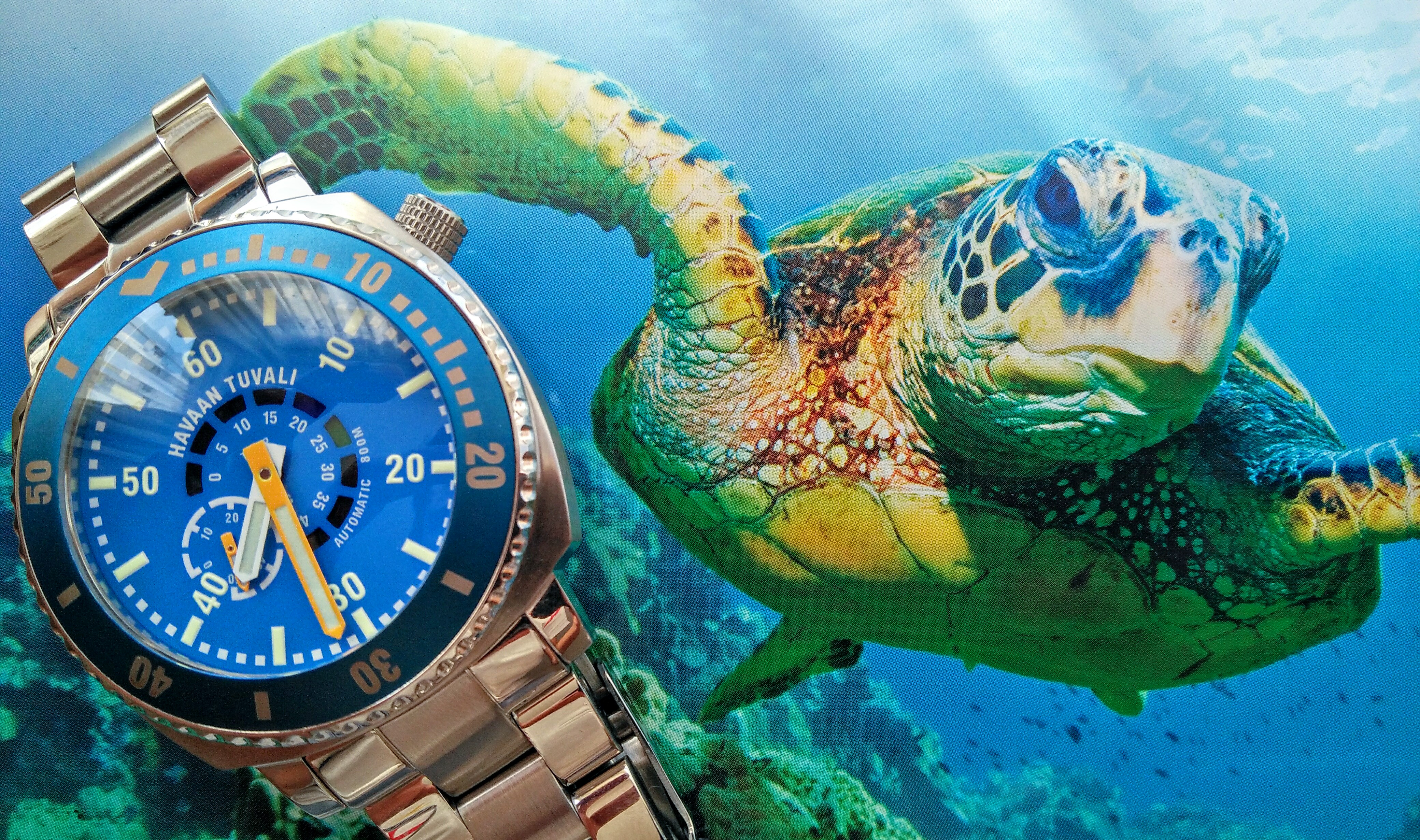 Havaan Tuvali Bluefin Diver Watch