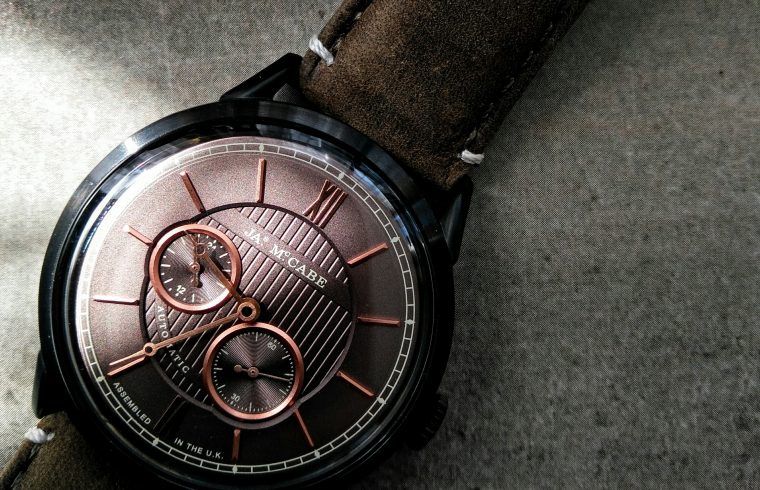James McCabe Watches, James McCabe Watch review, James McCabe Heritage Automatic Review