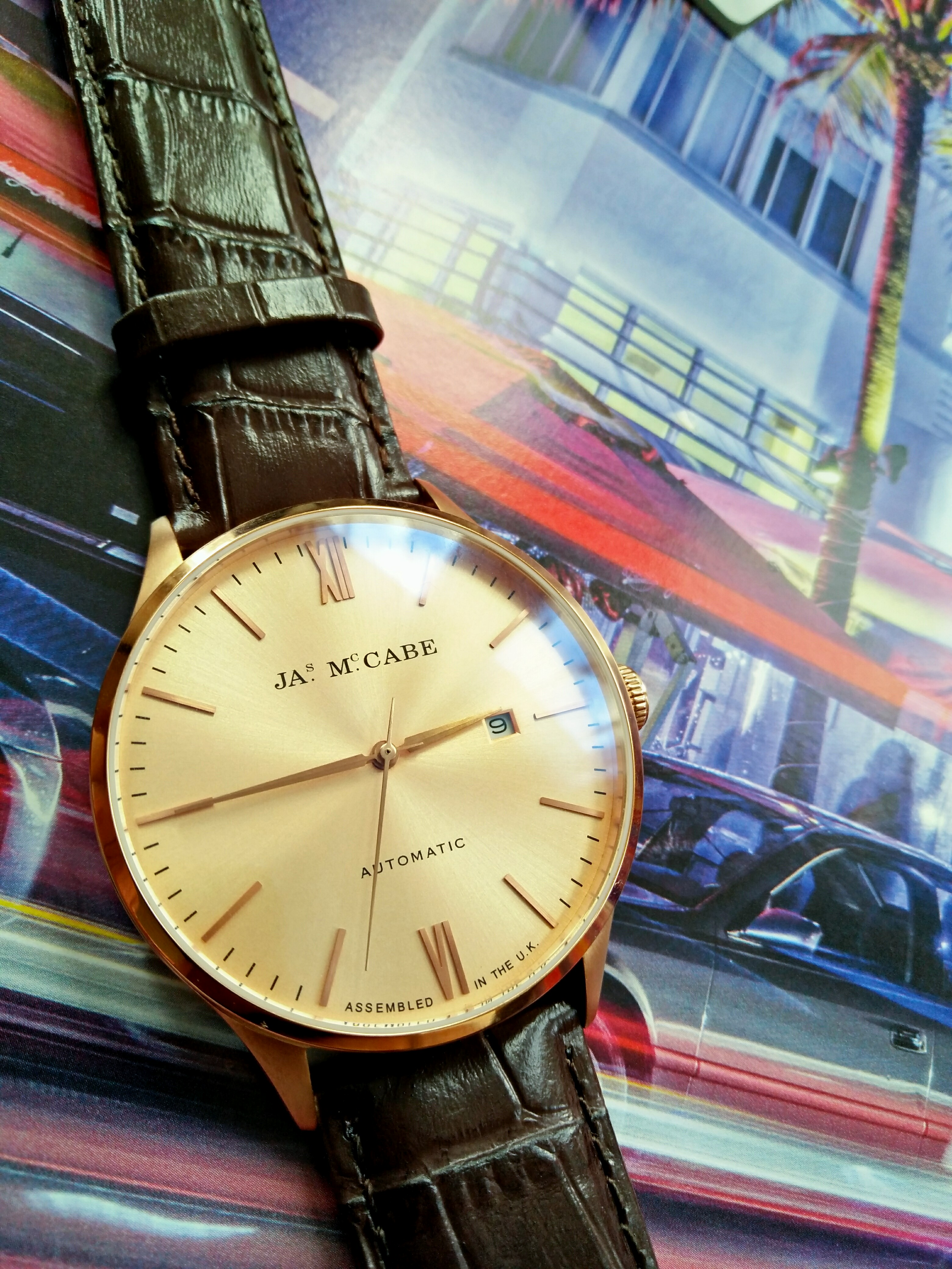 James McCabe London Automatic