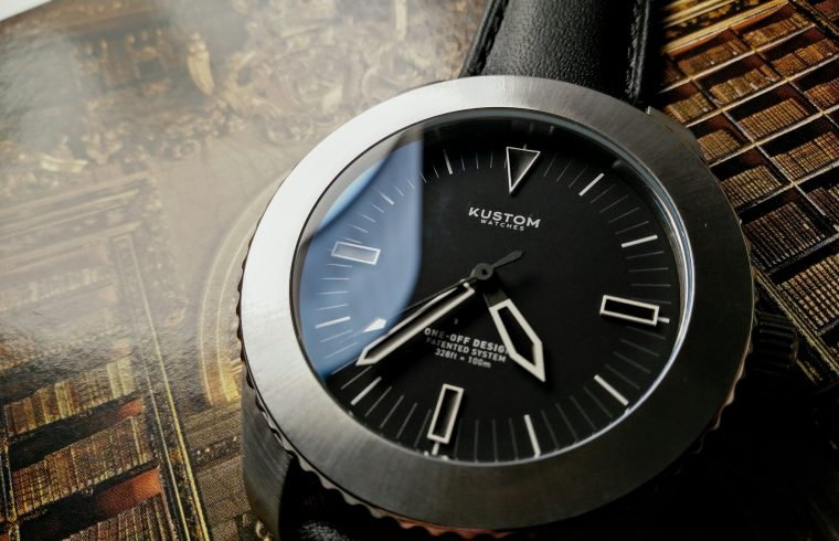 Kustom watches silver