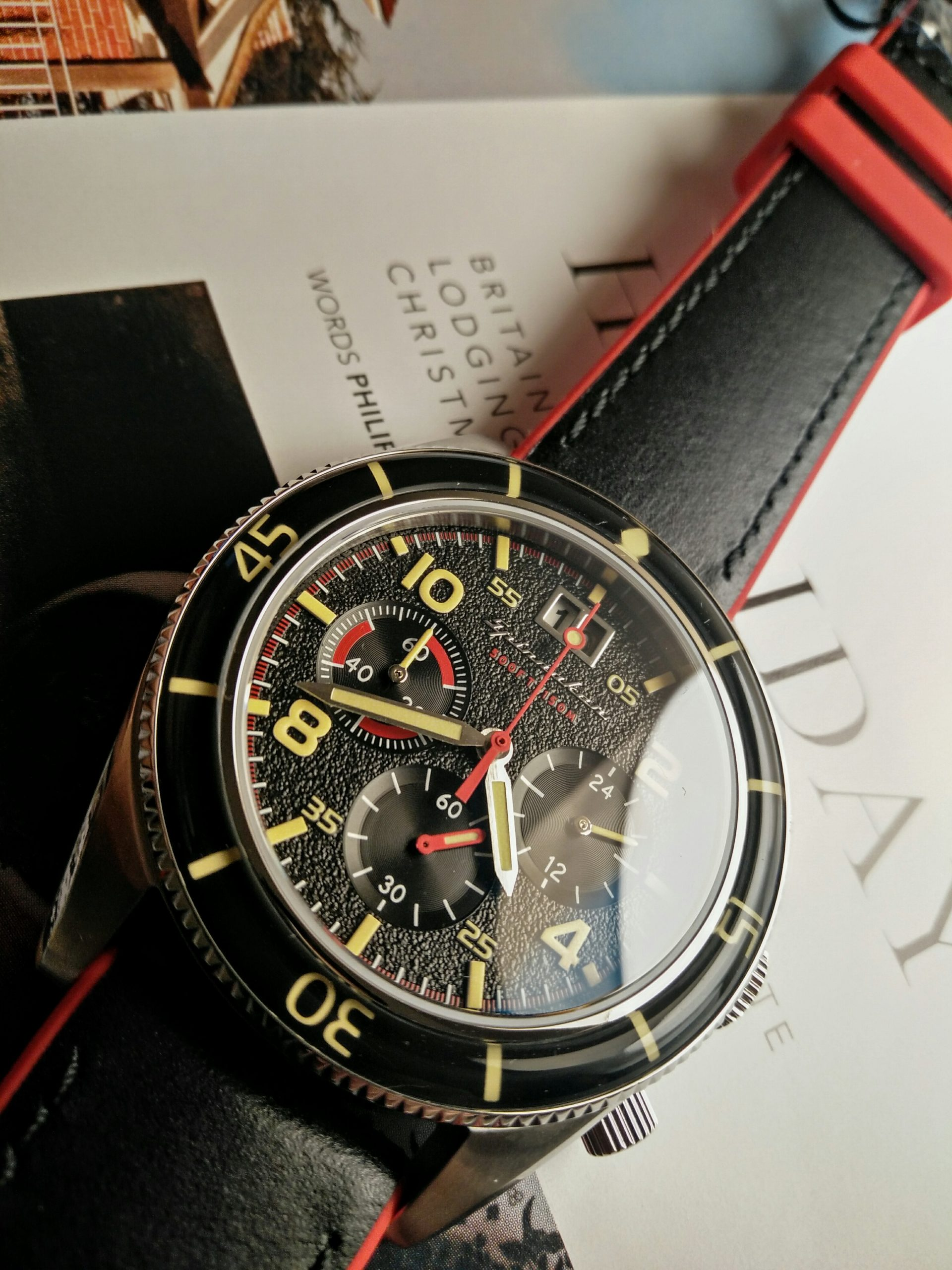 Fluess Chrono Red