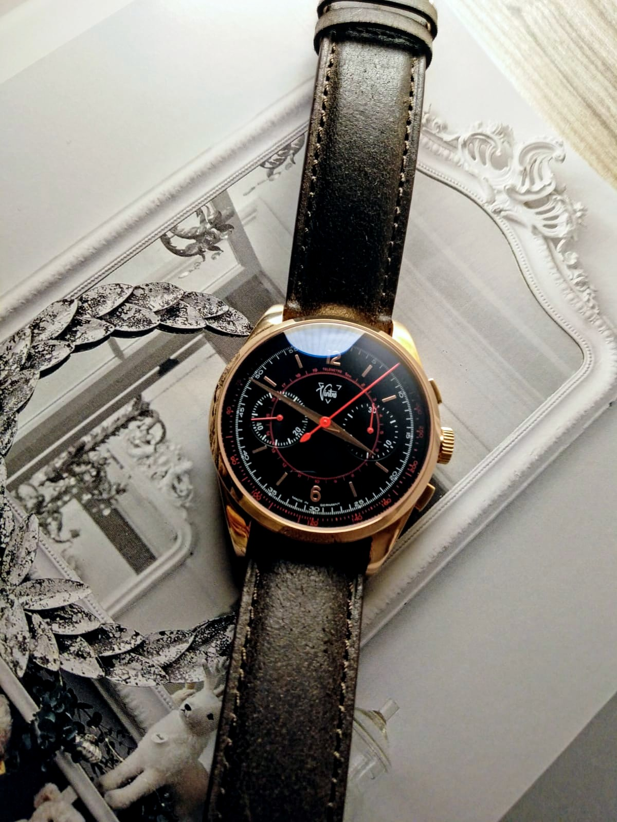 Rose Gold Le Mans 1952 Chronograph