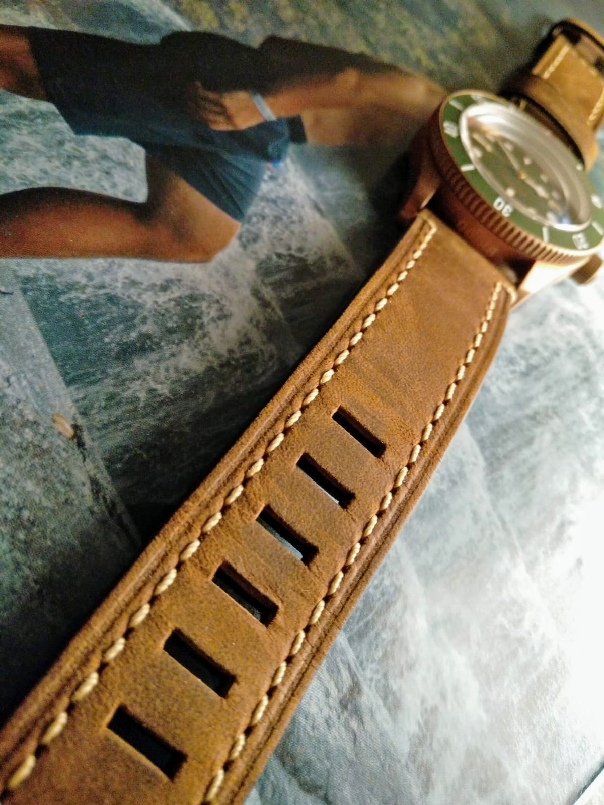 Aquatico Watch Bronze sea