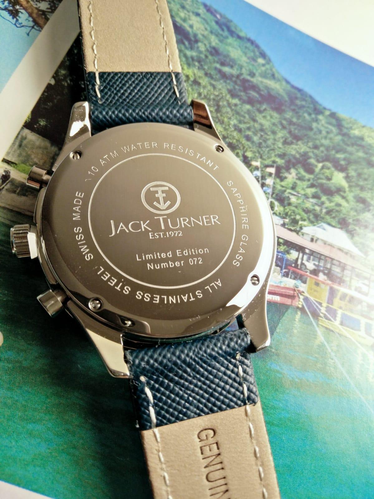 Backcasing Jack Turner Sports Chronograph