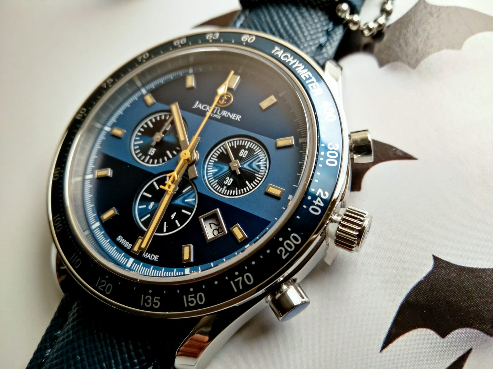 Dial Jack Turner Sports Chronograph