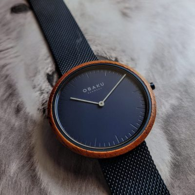 Obaku Marine watch